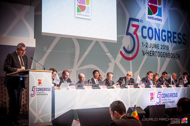 2019 World Archery Congress